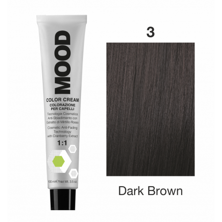 Mood Color Cream 3 Dark Brown