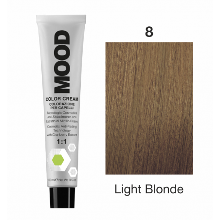Mood Color Cream 8 Light Blonde