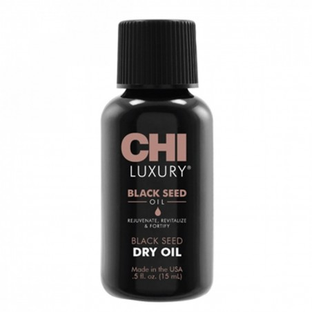 Ulei seminte Negre 15ml - Black Seed Dry Oil Chi Luxury